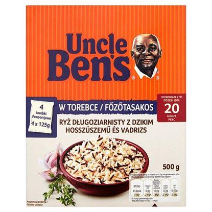 Uncle Ben's Ryż długoziarnisty z dzikim 500 g (4 torebki)