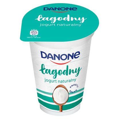 Danone łagodny Jogurt naturalny 165 g