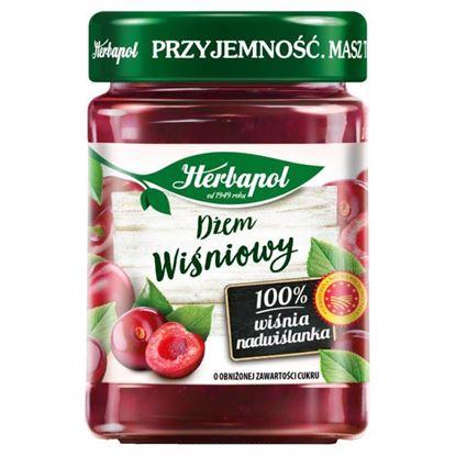 Herbapol Dżem wiśniowy o obniżonej zawartości cukru 280 g