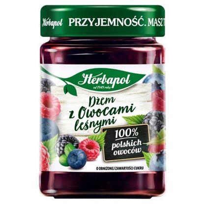 Herbapol Dżem z owocami leśnymi o obniżonej zawartości cukru 280 g