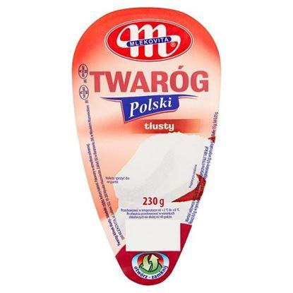 Mlekovita Twaróg Polski tłusty 230 g