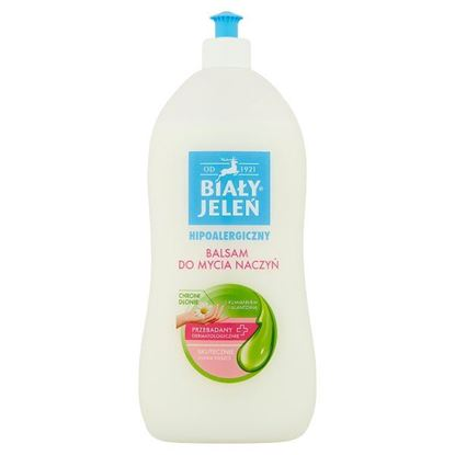 Biały Jeleń Hipoalergiczny balsam do mycia naczyń z rumiankiem i alantoiną 1 l