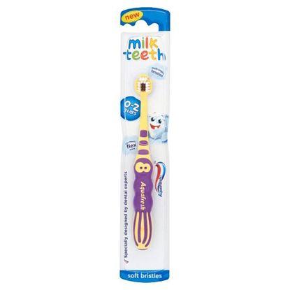 Aquafresh Milk Teeth Szczoteczka do zębów dla dzieci 0-2 lat Soft