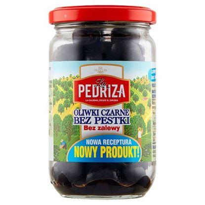 La Pedriza Oliwki czarne bez pestki bez zalewy 125 g
