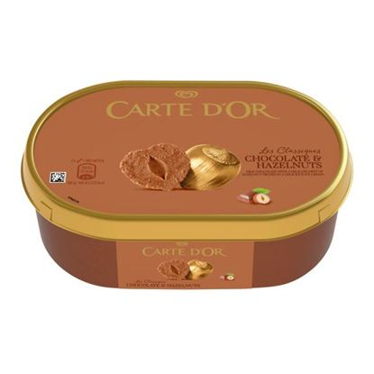 Carte D'Or Les Classiques Chocolate & Hazelnuts Lody 750 ml