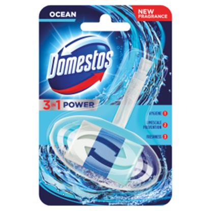Obrazek Domestos 3w1 Atlantic Kostka toaletowa 40 g