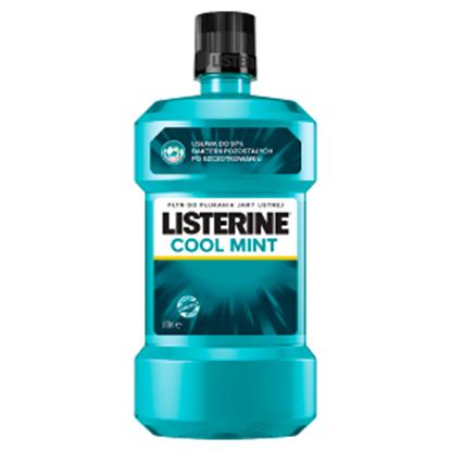 Obrazek Listerine Cool Mint Płyn do płukania jamy ustnej 500 ml