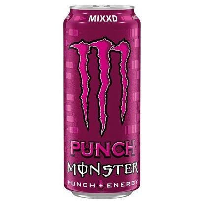 Monster Punch Mixxd Gazowany napój energetyczny 500 ml