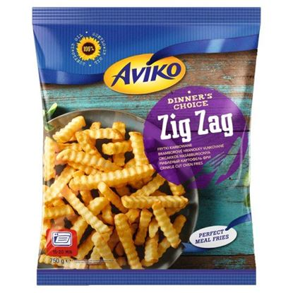 Aviko Zig Zag Frytki karbowane 750 g