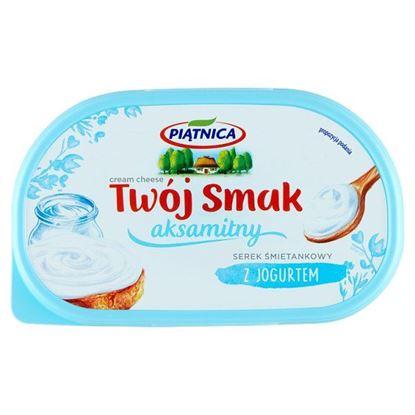 Piątnica Twój Smak Serek śmietankowy aksamitny z jogurtem 135 g