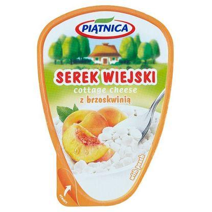 Piątnica Serek wiejski z brzoskwinią 150 g