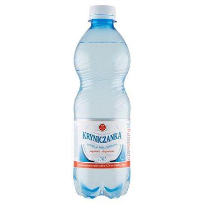 Kryniczanka Naturalna woda mineralna wysokozmineralizowana wysokonasycona 0,5 l
