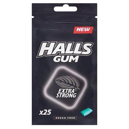 Halls Gum Guma do żucia bez cukru o smaku eukaliptusowym 36,5 g (25 sztuk)