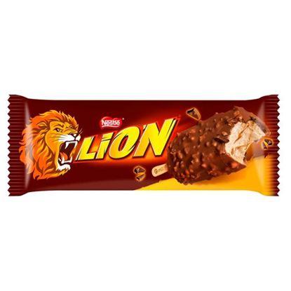 Lion Lody karmelowe sosem karmelowym w mlecznej czekoladzie 100 ml