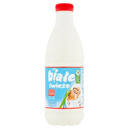 Obrazek Białe Mleko świeże 3,2% 1 l