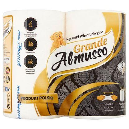 Almusso Grande Ręczniki wielofunkcyjne 2 rolki