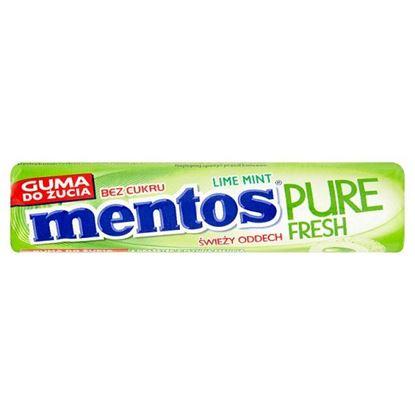 Mentos Pure Fresh Lime Mint Guma do żucia bez cukru 15,5 g (8 sztuk)