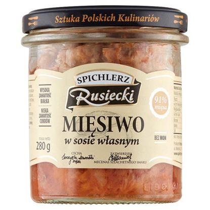 Spichlerz Rusiecki Mięsiwo w sosie własnym 280 g