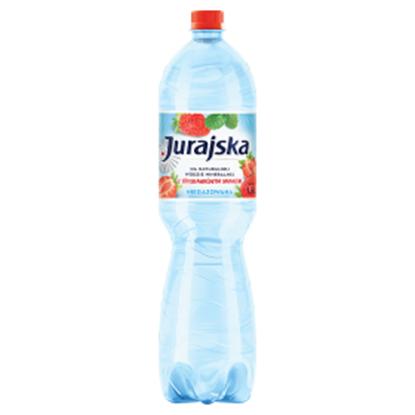 Obrazek Jurajska Napój niegazowany z truskawkowym smakiem 1,5 l
