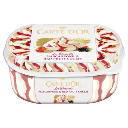 Carte D'Or Les Desserts Mascarpone & Red Fruit Coulis Lody 900 ml