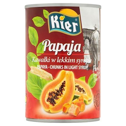 Kier Papaja kawałki w lekkim w syropie 425 g