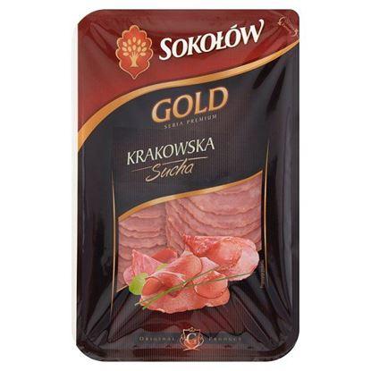 Sokołów Gold Kiełbasa krakowska sucha 100 g