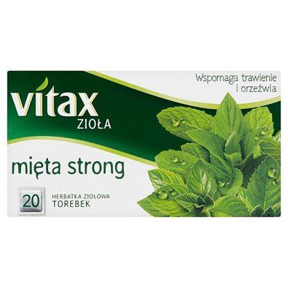 Vitax Zioła Herbatka ziołowa mięta strong 30 g (20 x 1,5 g)