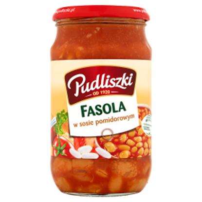 Obrazek Pudliszki Fasola w sosie pomidorowym 620 g