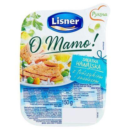 Lisner O Mamo! Sałatka hawajska z tuńczykiem i ananasem 150 g