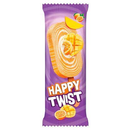 Happy Twist Lody o smaku śmietankowym i lody wodne o smaku mango-marakuja 100 ml