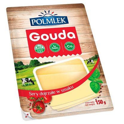 Polmlek Ser Gouda plastry 150 g
