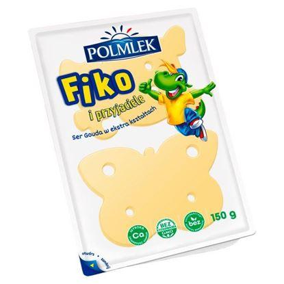 Polmlek Fiko i Przyjaciele Ser Gouda w plastrach 150 g