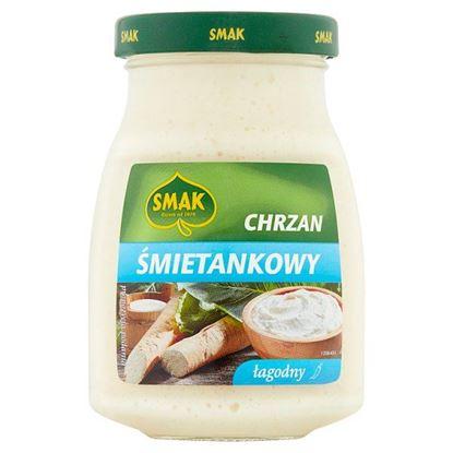 Smak Chrzan śmietankowy łagodny 175 g