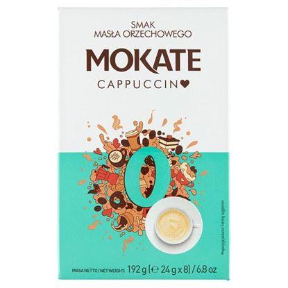 Mokate Cappuccino smak masła orzechowego 192 g (8 x 24 g)