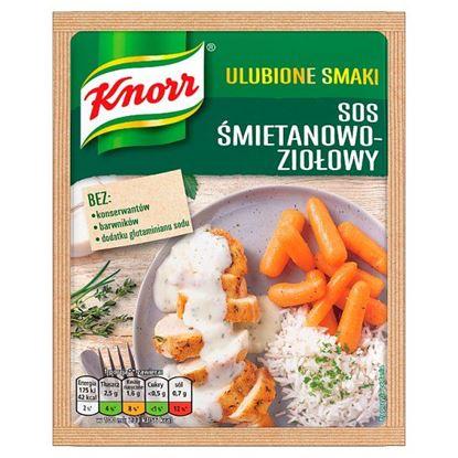 Knorr Ulubione Smaki Sos śmietanowo-ziołowy 29 g