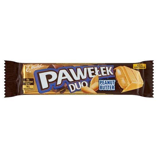 E. Wedel Pawełek Duo Peanut Butter Batonik 45 g