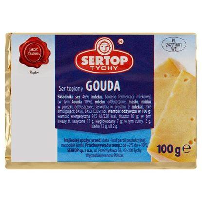 Sertop Tychy Ser topiony gouda 100 g
