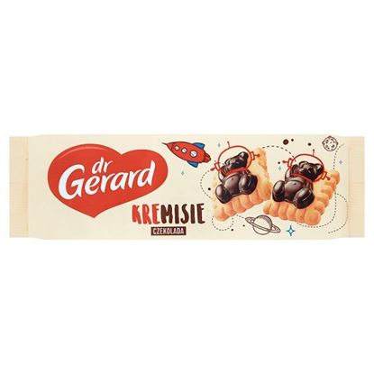 dr Gerard KreMisie Herbatniki z kremem śmietankowym i czekoladą 175 g