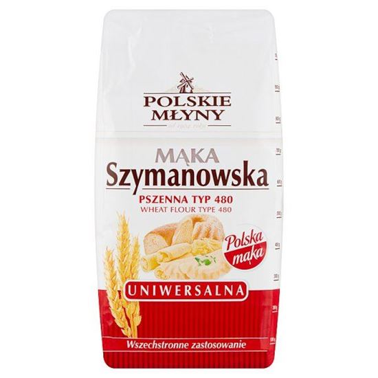 Polskie Młyny Mąka Szymanowska Uniwersalna pszenna typ 480 1 kg