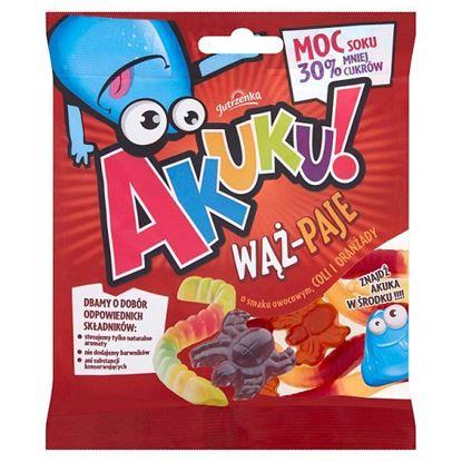AKUKU! Wąż-Paje Żelki o obniżonej zawartości cukrów 90 g