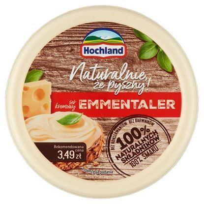 Hochland Ser kremowy Emmentaler 120 g