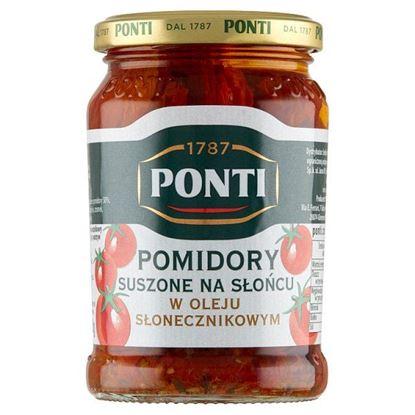 Ponti Pomidory suszone na słońcu w oleju słonecznikowym 280 g