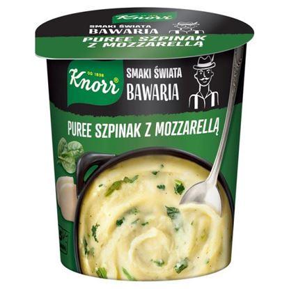 Knorr Smaki Świata Bawaria Puree szpinak z mozzarellą 47 g