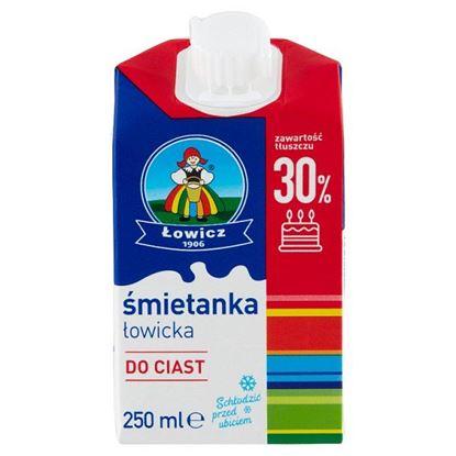 Łowicz Śmietanka łowicka UHT 30% 250 ml