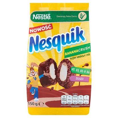 Nestlé Nesquik BananaCrush Płatki śniadaniowe 150 g