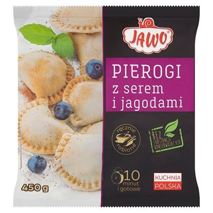 Jawo Pierogi z serem i jagodami 450 g