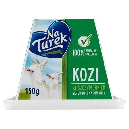 NaTurek Kozi serek do smarowania ze szczypiorkiem 150 g