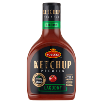 Obrazek Firma Roleski Ketchup Premium łagodny 465 g