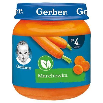 Gerber Marchewka po 4. miesiącu 125 g