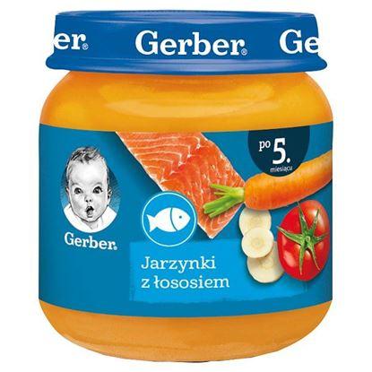 Gerber Jarzynki z łososiem po 5. miesiącu 125 g